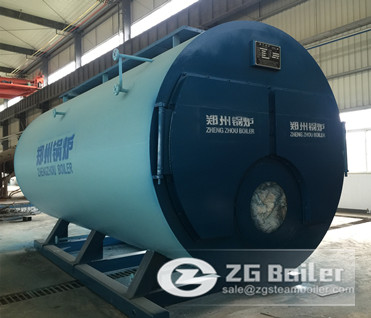 21 MW Fire tube hot water boiler image