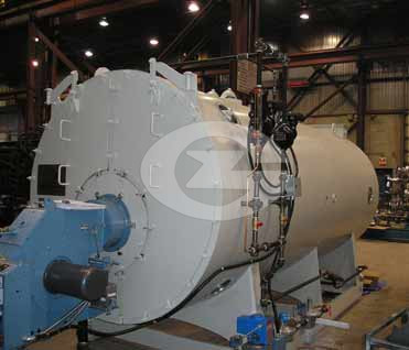 2.1MW(2100KW) Fire tube hot water boiler image