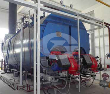 4.2MW(4200KW) Fire tube hot water boiler image