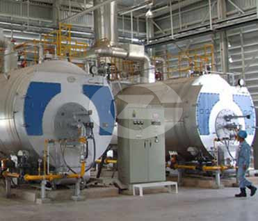 7MW(7000kw) Fire tube hot water boiler image