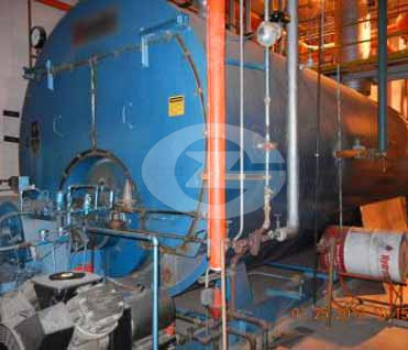 4ton fire tube steam boiler image