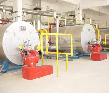 6ton fire tube steam boiler image