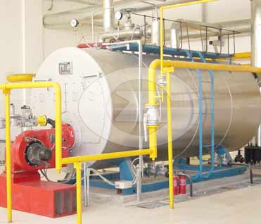 0.7MW(700KW) hot water boiler image