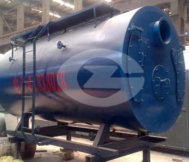 10.5 MW hot water boiler image