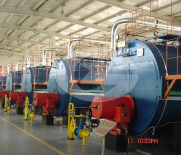 14MW hot water boiler image