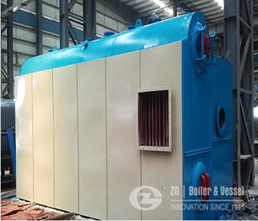 21MW hot water boiler image