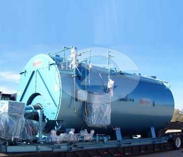 8.4MW(8400KW) hot water boiler image