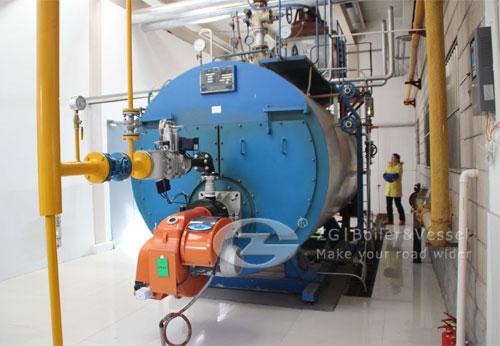 Fire Water Boiler ~ Kw fire tube hot water boiler price