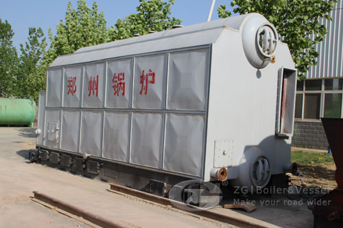 High capacity water tube boiler