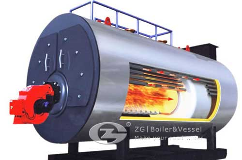Correctly choosing the steel is very important to the gas fired steam boiler image
