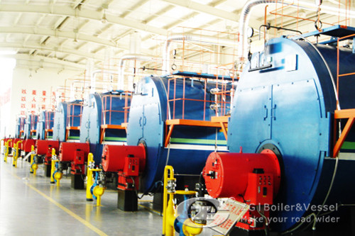 operate 1 ton gas fired boiler