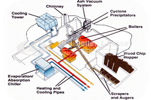 Small scale biomass fired boilers plant manufacturer image