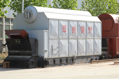 Wood chip steam boiler for sale image