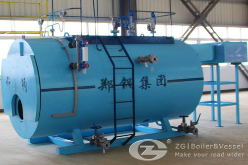 2 ton diesel steam boiler for autoclave image