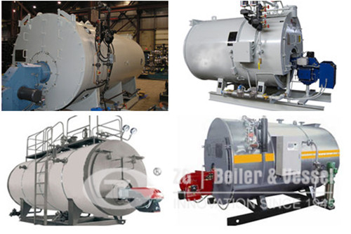 High efficiency 2ton natural gas steam boiler image