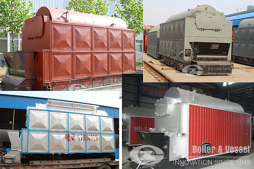 Biomass chain grate steam boiler manufacturer image