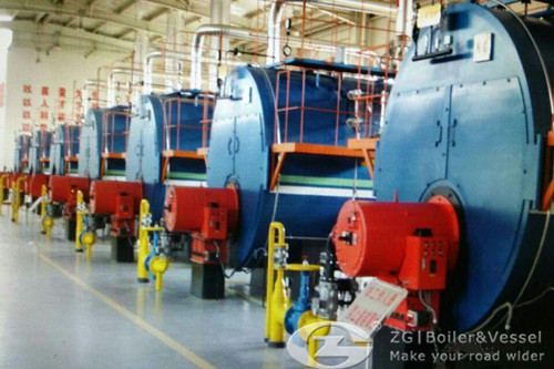 Alternative fuel industrial steam boilers image