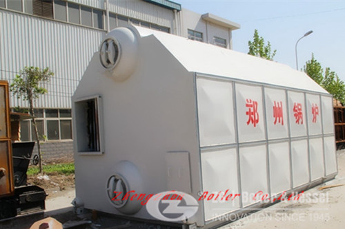 Assembled water tube steam boiler supplier image