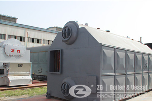 Double Drum Steam Boiler for sale image