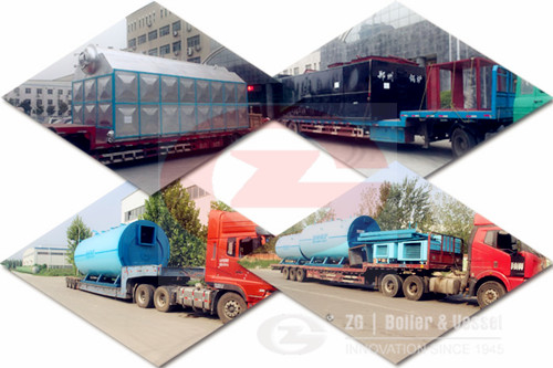 Coal fired water tube boiler supplier in Philippines image