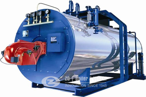 Gas fired Fire tube condensing boiler for sale image
