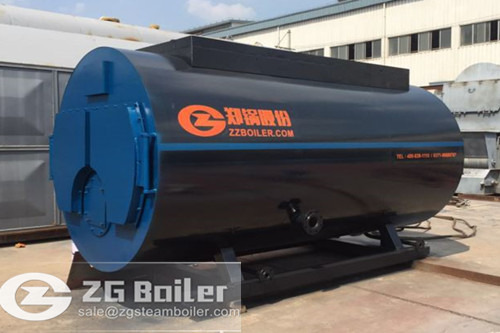 12 ton low steam diesel boiler in Nigeria image