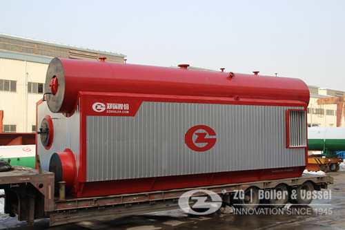 Specification of high pressure water tube boiler image