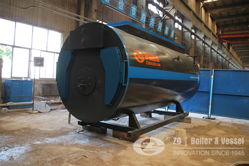 Horizontal type fire tube steam boiler supplier image
