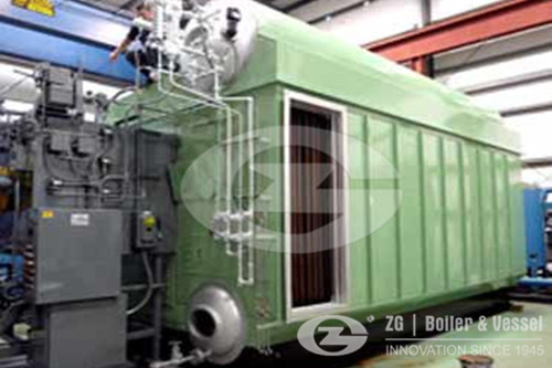 Industrial Horizontal Packaged Steam Boiler image