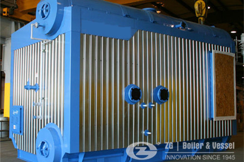Horizontal Drum Water Tube Boiler image