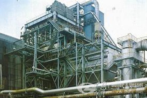 Engine waste Heat recovery boiler