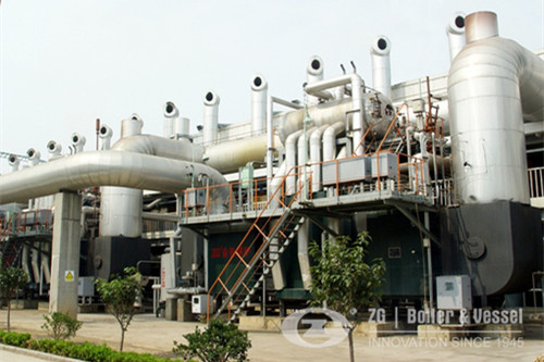 Fire Tube Waste Heat Recovery Boiler WHRB image
