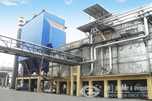 Exhaust gas heat recovery boiler manufacturer image
