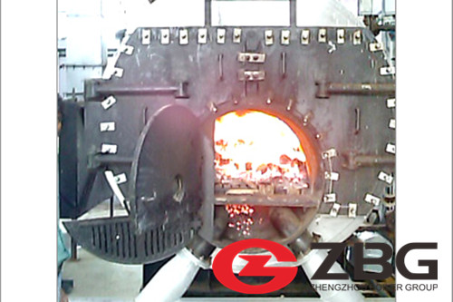 IBR Coal Fired Steam Boiler image