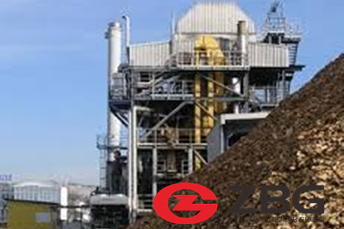 Waste fabric fired steam boiler manufacturer image