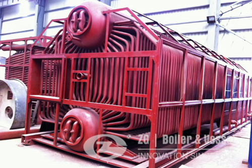 chain grate with coal fired boiler