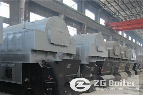 Bangladesh setup 2 ton coal fire steam boiler