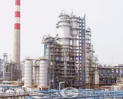 High pressure steam boiler in paper industry