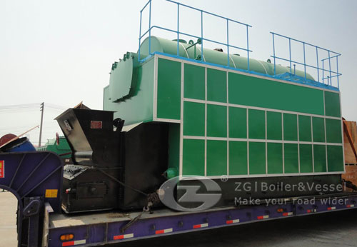 Steam boiler for poultry feed image