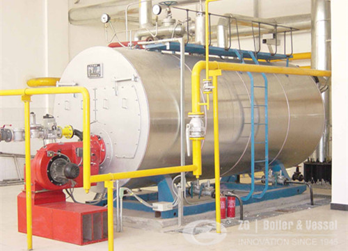 Fire Tube 3 Pass Low Pressure Industrial Steam Gas Oil