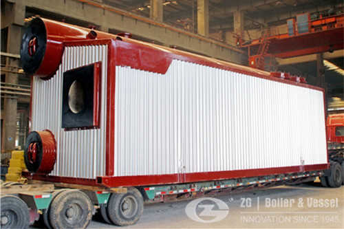 17 TPH natural gas steam boiler image