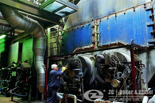 Steam Boiler Application in Building materials industry image