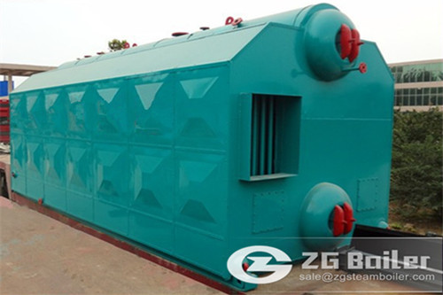 Fish Meal Factory Used Steam Boiler image