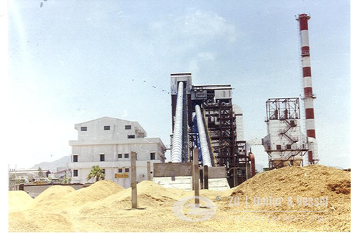 Biomass Power plant boiler of 6 MW Capacity image