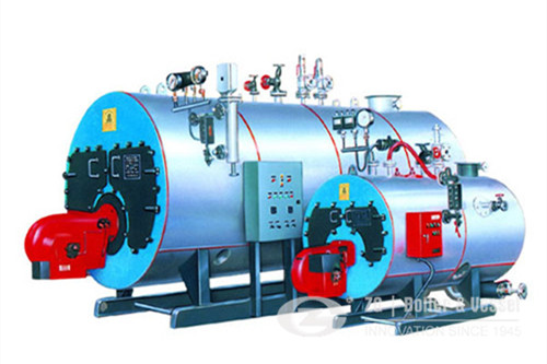 20ton/hr oil fired hot water boiler image