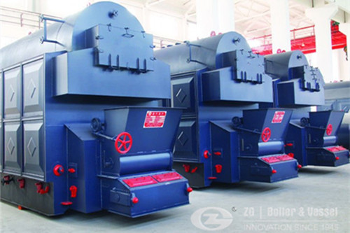 7 ton wood chip boiler for fish meal plant image