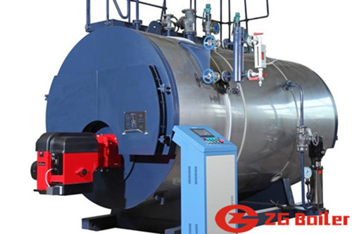 steam boiler for curing concrete image