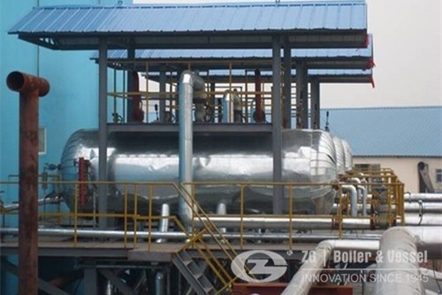 Natural Circulation type waste heat recovery boiler image