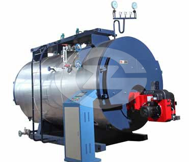12ton fire tube steam boiler image