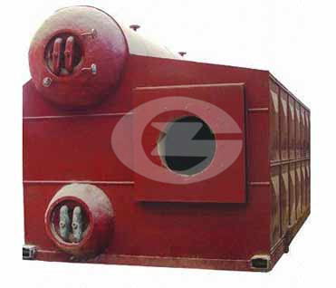 17.5 MW Water tube hot water boiler image